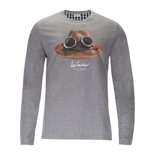 Pánské tričko s dlouhým rukávem Luis Trenker Der Hut Men