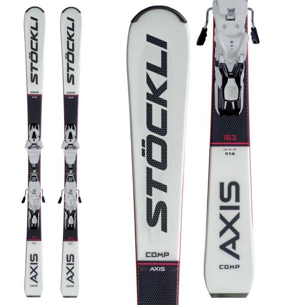 Sjezdové lyže Stöckli AXIS COMP + MC11