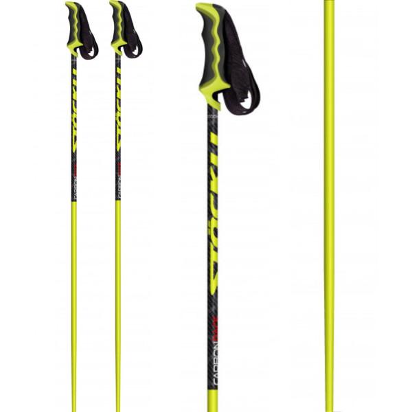 Pánské sjezdové hole Stöckli Carbon Race Yellow