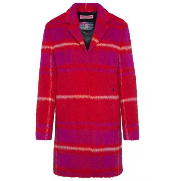 Dámský kabát Frieda&Freddies Wool Coat 7708