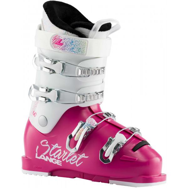 Dětské lyžařské boty Lange STARLET 60 MAGENTA