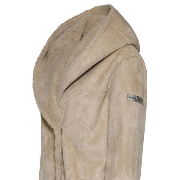Dámský kabát Frieda&Freddies Fur Coat Yona