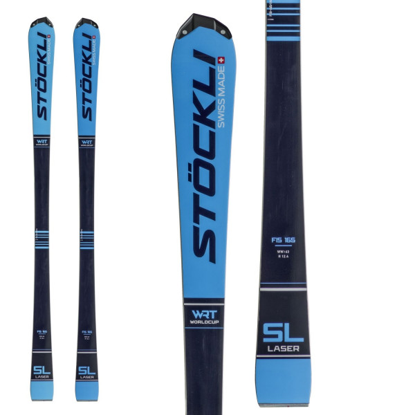 Pánské sjezdové lyže Stöckli LASER WRT SL FIS + SRT CARBON + SRT 12