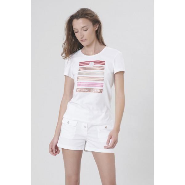 Dámské tričko PoivreBlanc S20-4402 WO