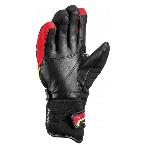 Dětské lyžařské rukavice Leki WORLDCUP RACE COACH FLEX S JUNIOR