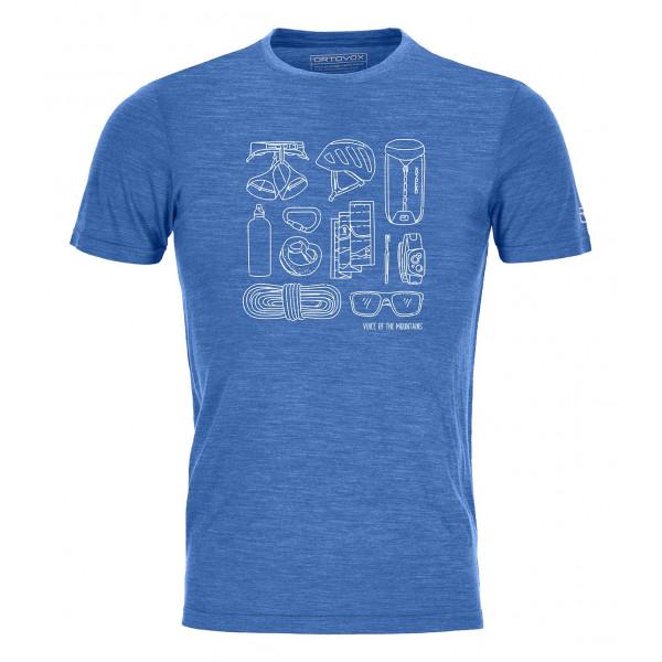 Pánské funkční tričko Ortovox 120 COOL TEC PUZZLE T-SHIRT