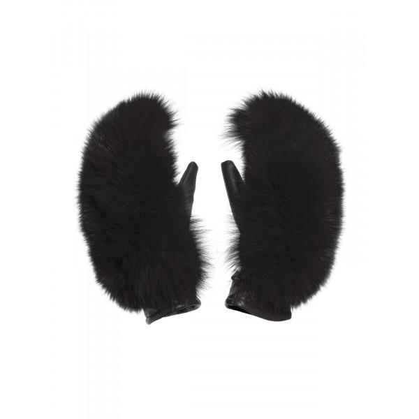 Dámské lyžařské rukavice Goldbergh Hando Real fur