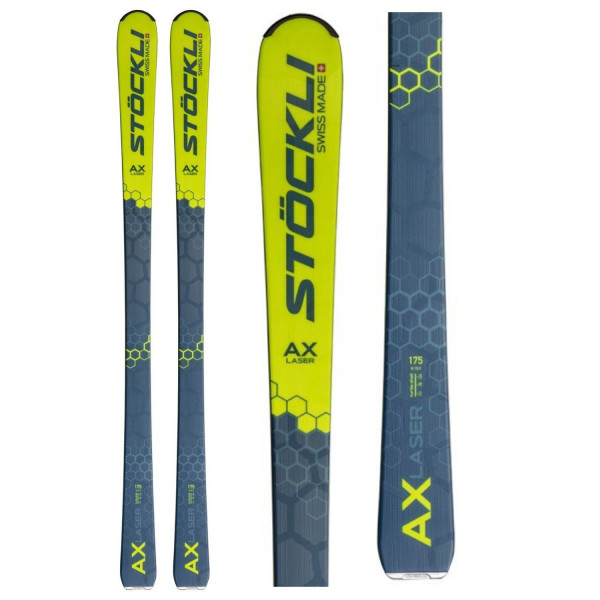 Sjezdové lyže Stöckli Laser AX + Vist Worldcup Air 75 Wide + Vist 412