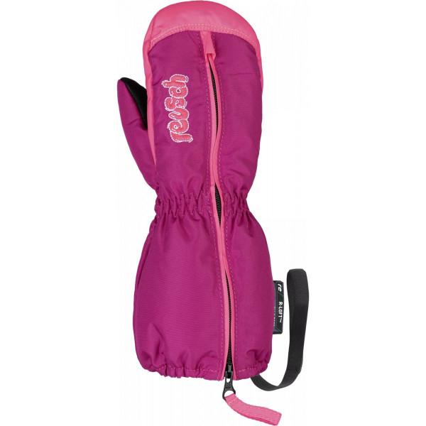 Dívčí  lyžařské rukavice Reusch TOM MITTEN