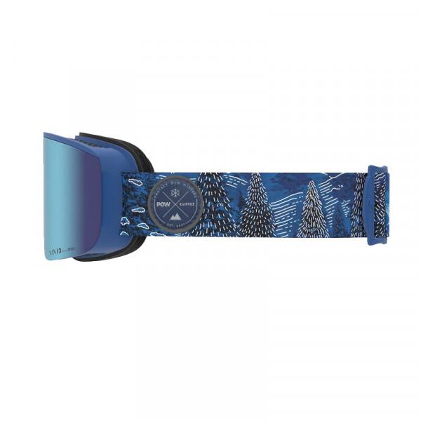 Pánské lyžařské brýle Giro AXIS POW Vivid Royal/Infrared
