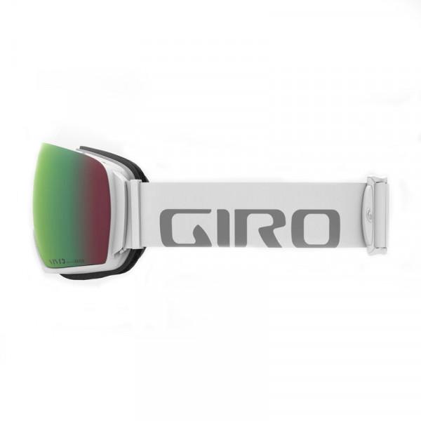 Pánské lyžařské brýle Giro ARTICLE WHITE WORDMARK VIVID EMERALD/INFRARED