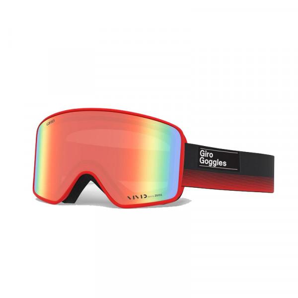 Pánské lyžařské brýle Giro METHOD Black Red Vivid Ember/Infrared