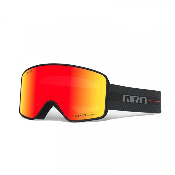 Pánské lyžařské brýle Giro METHOD BLACK TECHLINE VIVID EMBER/INFRARED
