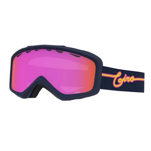 Dětské lyžařské brýle Giro Grade Midnight Neon Lights Amber Pink