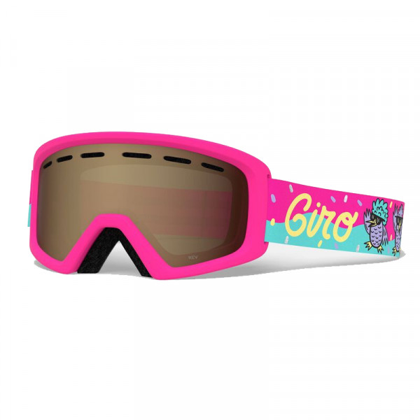 Dívčí  lyžařské brýle Giro REV DISCO BIRDS AR 40