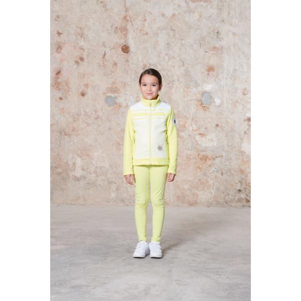 Dívčí mikina PoivreBlanc W20-1605-JRGL Hybrid Fleece