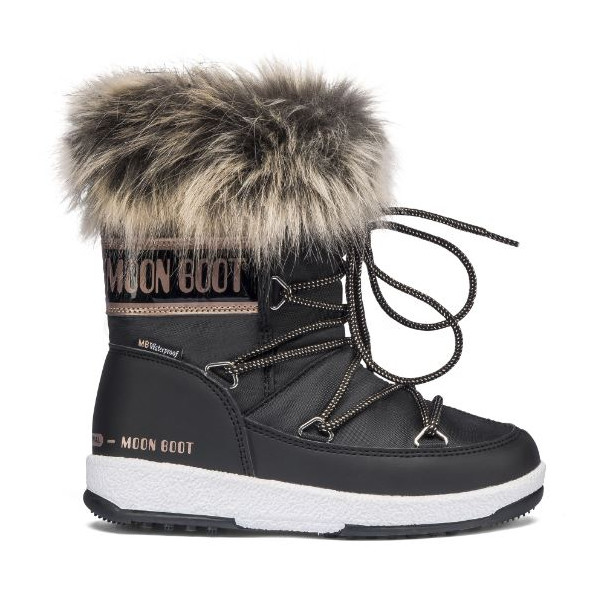 Dívčí  sněhule Moon Boot GIRL MONACO LOW WP