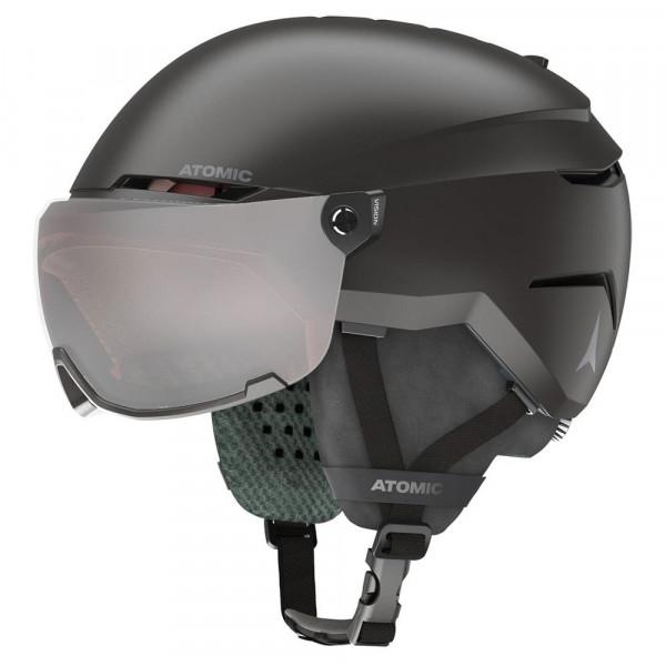 Dětská  lyžařská helma se štítem Atomic SAVOR VISOR JR