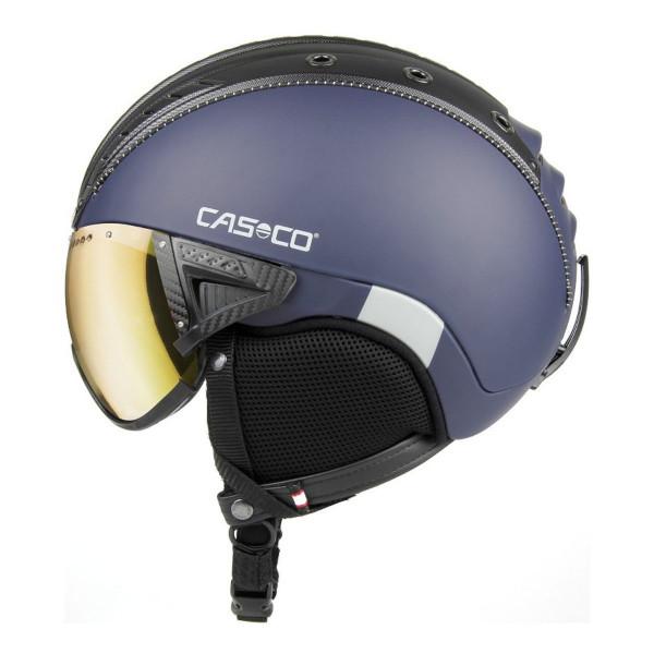 Lyžařská helma se štítem Casco SP-2 VISOR POL