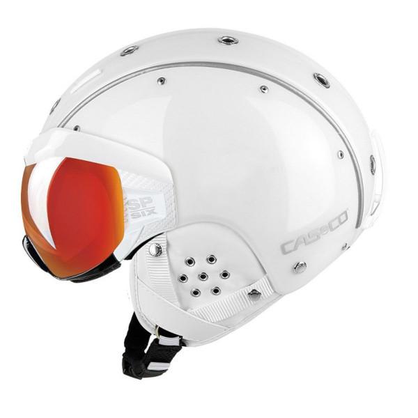 Lyžařská helma se štítem Casco SP-6 VISOR