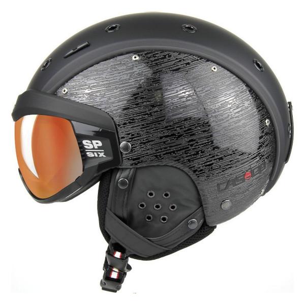 Helma se štítem Casco SP-6 Visor Brush