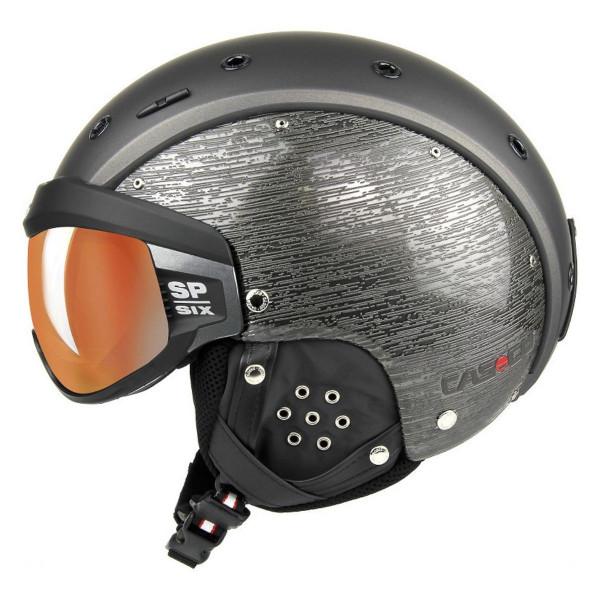 Lyžařská helma se štítem Casco SP-6 VISOR BRUSH