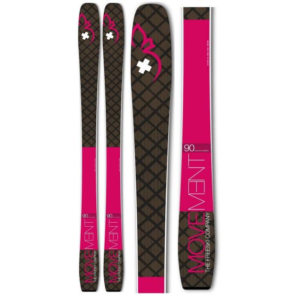 Dámské skialpové lyže Movement AXESS 90