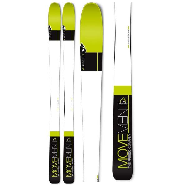 Skialpové lyže Movement APPLE 80 + SKIN 80