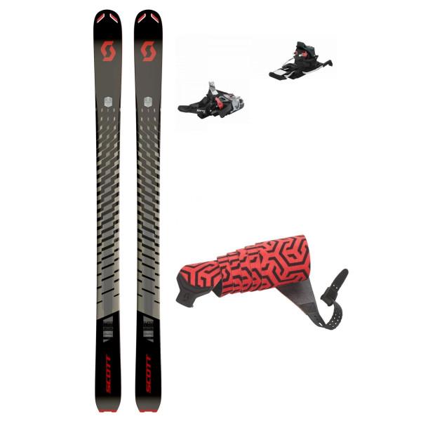Pánský skialpový set Scott Superguide 88 + Fritschi Xenic 10 + Skin with Hook Superguide 88