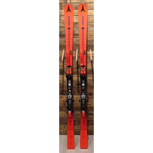 Testovací sjezdové lyže Atomic REDSTER G9 + X 12 TL GW