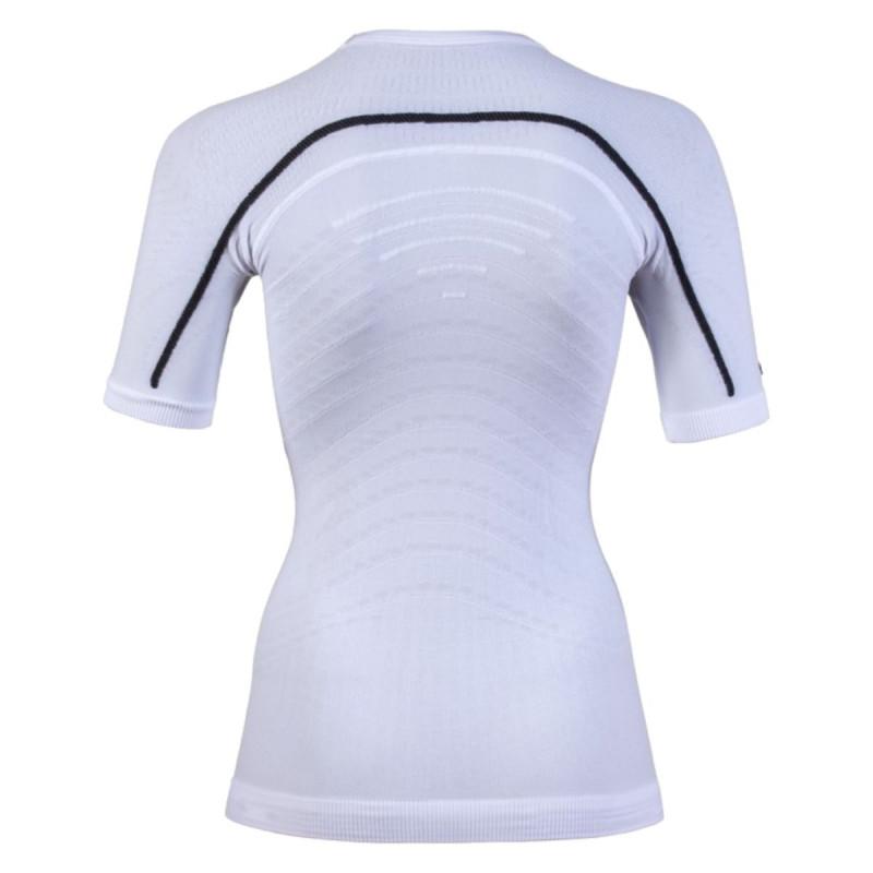 Dámské funkční tričko UYN LADY MOTYON UW SHIRT SHORT  - bílá