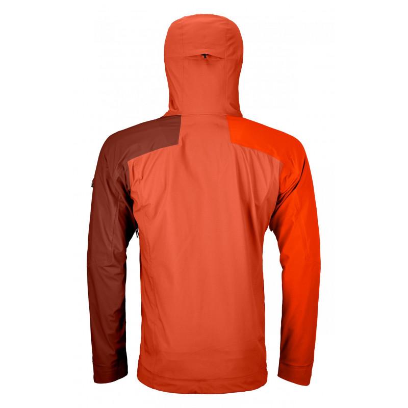 Pánská bunda Ortovox 3L ORTLER JACKET  - oranžová