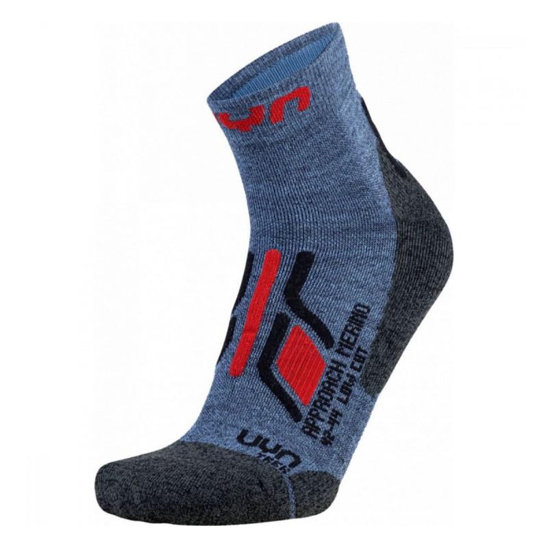 Pánské turistické ponožky UYN TREKKING APPROACH MERINO LOW CUT  - tmavě modrá